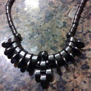 🌷 Bundle 2/$25 Hematite Necklace